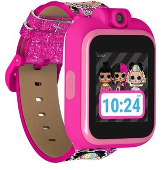 iTouch LOL Suprise! Smartwatch: Camera, Learning Games, Birthday Gift for Girls (Lil' Outrageous and 80s B.B. Print)