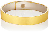Valextra Women's Leather Bracelet-YELLOW