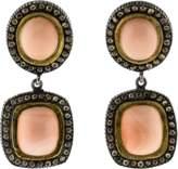 Yossi Harari Ella Drop Coral Earrings