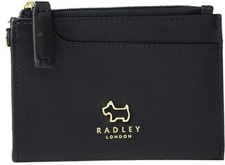 Radley London Pockets - Small Zip Top Coin Purse (Black) Handbags