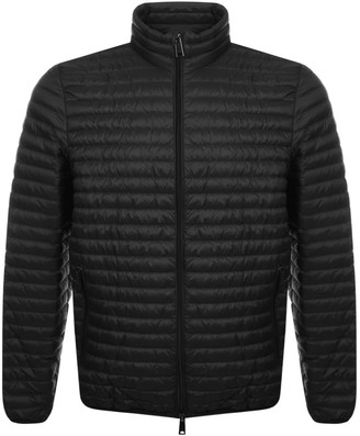Giorgio Armani Emporio Quilted Down Jacket Black