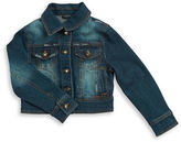 Urban Republic Girls 7-16 Button-Front Denim Jacket