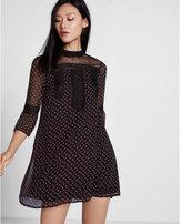 Express Lace Inset Shift Dress