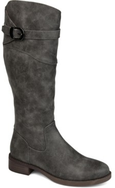 Journee Collection Women's Extra Wide Calf Brooklyn Boot Women's Shoes