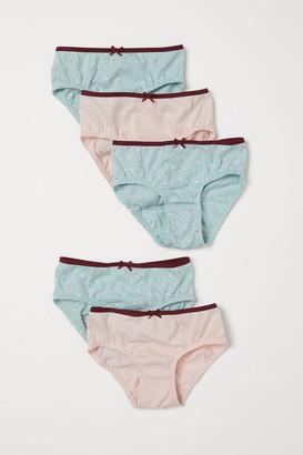 H&M 5-Pack Cotton Briefs