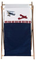 JoJo Designs Baby and Kids Clothes Vintage Aviator Airplane Laundry Hamper by Sweet