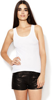 Skinny Cotton Scoopneck Tank