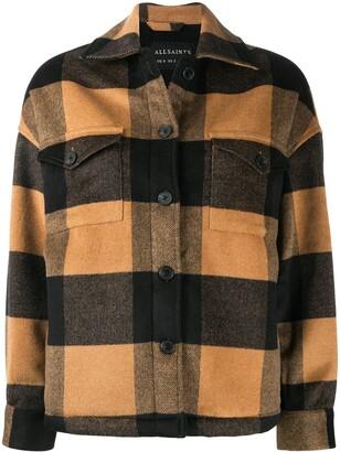 AllSaints Luella checked jacket