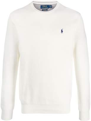 Polo Ralph Lauren logo embroidery jumper