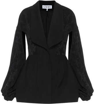 Loewe Wool jacquard jacket
