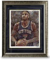 Steiner Sports Framed Carmelo Anthony Mosaic