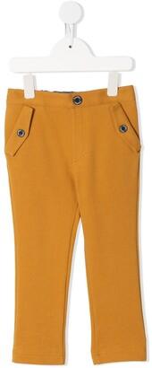 Familiar Vibrant Cotton-Blend Trousers