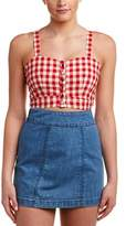 Alythea Gingham Crop Top.