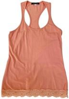 Patrizia Pepe Orange Cotton Top for Women