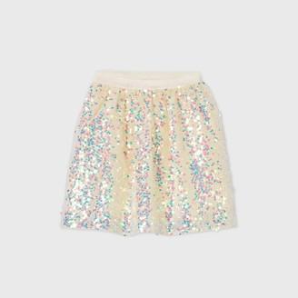 Cat & Jack Girls' Sequin Skirt - Cat & JackTM