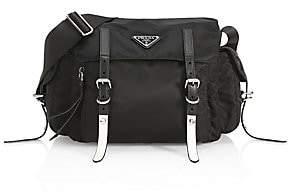 4006cae08fd20c Prada Women's Nylon Messenger Bag With Studding