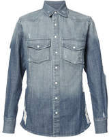 United Rivers Hawriver Denim Shirt - Blue - Size XXL