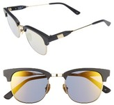 Westward Leaning Women's 'Vanguard' 49Mm Sunglasses - Black Matte/ Super Gold