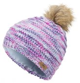 Trespass Childrens Girls Tami Knitted Winter Pom Pom Hat