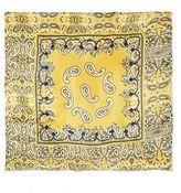 Paisley silky scarf