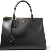 Prada Galleria Soft Medium Leather Tote - Black