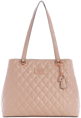 GUESS SR787436ROS Lola Double Handle Tote Bag