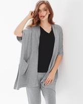 Soma Intimates Terry Square Topper Wrap Grey