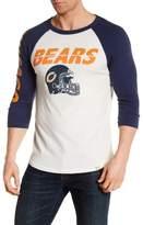 Junk Food Clothing Chicago Bears Raglan Tee