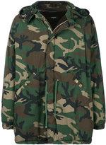 Yeezy Season 5 oversized camouflage jacket