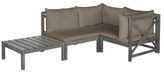 Safavieh Alpha Outdoor Sectional Set (4 PC)
