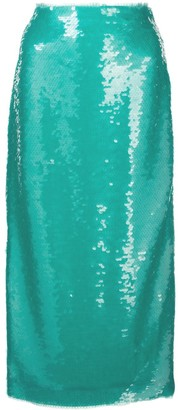 Prabal Gurung Sequin Pencil Skirt