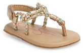 Jessica Simpson Infant Girl's Swizzle Thong Sandal