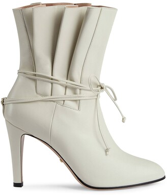 Gucci Gathered Effect Ankle Boot