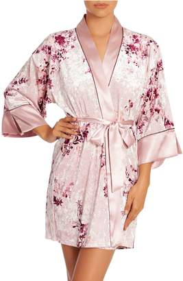 In Bloom Alpine Botanical-Print Robe