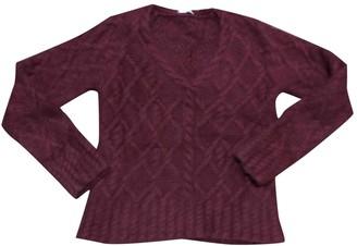 Philosophy di Alberta Ferretti Burgundy Wool Knitwear for Women