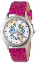 Disney Kids' W000994 Tween Tinker Bell Glitz Stainless Steel Watch