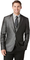Perry Ellis Big and Tall Iridescent Twill Suit Jacket