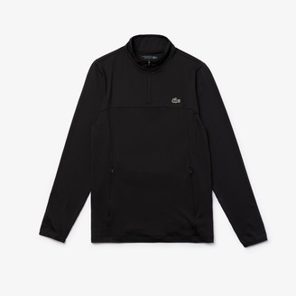 Lacoste Men's SPORT Stretch Zippered Collar Sweatshirt