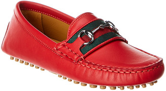 Gucci Leather Moccasin