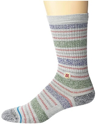 Stance Leslee St (Grey) Crew Cut Socks Shoes