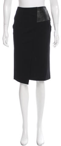CNC Costume National Knee-Length Pencil Skirt