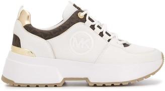 MICHAEL Michael Kors Logo Print Low-Top Sneakers