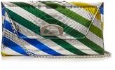 Christian Louboutin Vero Dotat python clutch