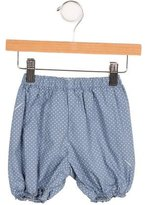 Burberry Girls' Elasticized Polka Dot Shorts