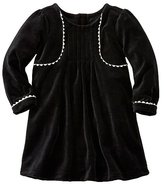 Baby Ric-Rac Dress In Softest Velour
