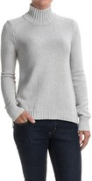 Lilla P Novelty Stitch Turtleneck Sweater (For Women)