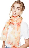 GUESS Lily-Print Scarf