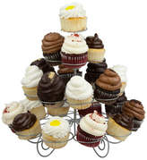 Pier 1 Imports Home Basics 3 Tier Steel 23 Cupcake Holder, Silver