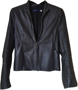 Givenchy Anthracite Leather Leather jackets