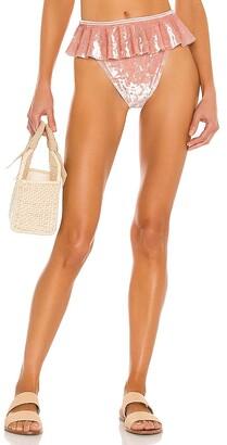 Montce Swim Tamarindo Ruffle Bikini Bottom